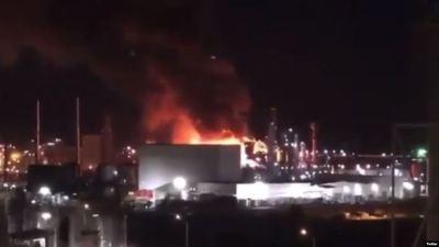 إسبانيا.. انفجار هائل بمنطقة صناعية في كتالونيا