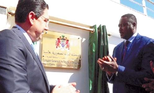 افتتاح-قنصلية-غامبيا-بمدينة-الداخلة-المغربية