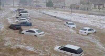 فيضانات قطاع غزة