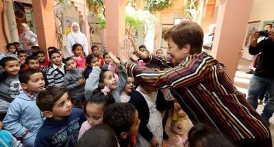 صندوق النقد الدولي يمنح هبة لإحدى المدارس بمدينة مراكش