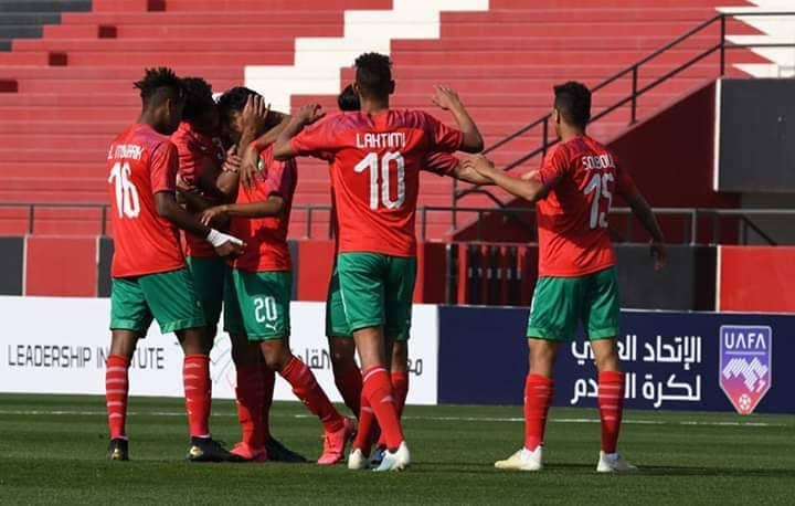 كأس العرب للشباب.. المغرب يسحق جيبوتي بسداسية