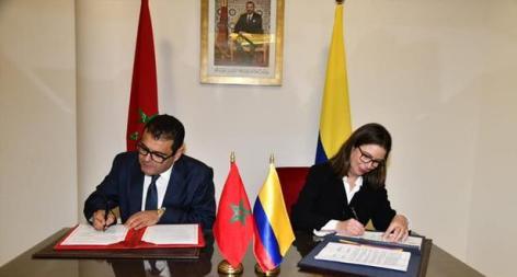 كولومبيا تدعم موقف المغرب الرامي إلى التوصل إلى حل لقضية الصحراء