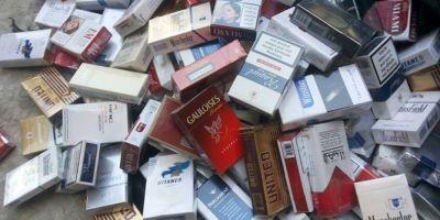معدل انتشار السجائر المهربة