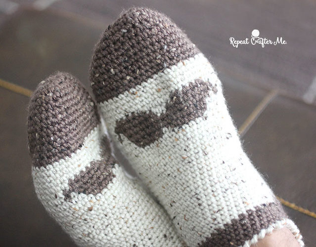 crochet socks free patterns for father's day