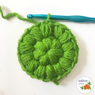 crochet face scrubbie