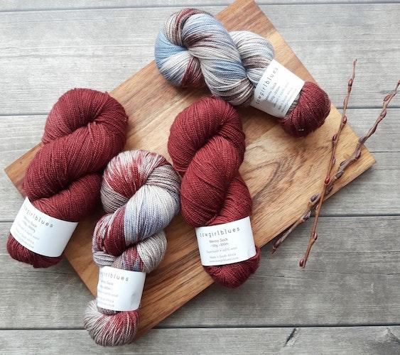 types of yarn packaging hank