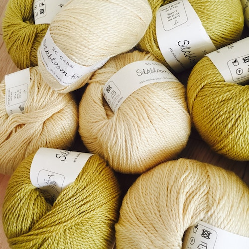 types of yarn - silk yarn