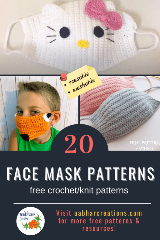 free patterns for face mask aabharcreations
