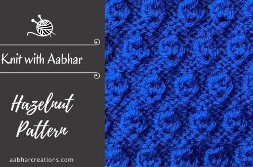 Hazelnut stitch featured aabharcreations