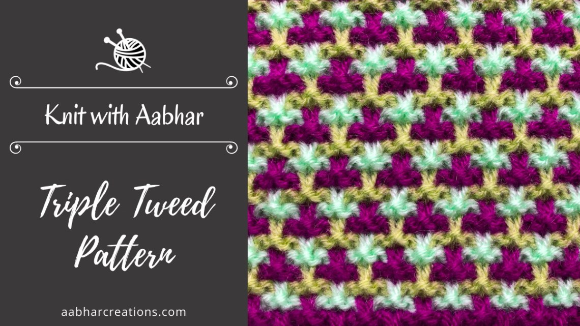 Triple tweed featured aabharcreations