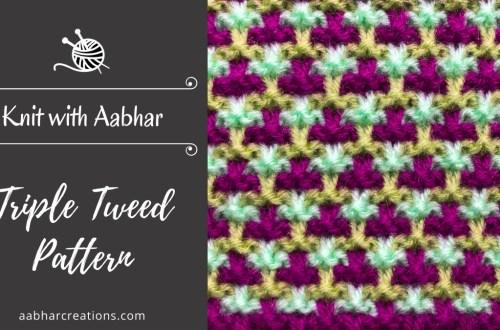 Triple tweed featured aabharcreations
