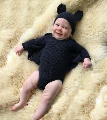 Baby Bat Costume Onesie