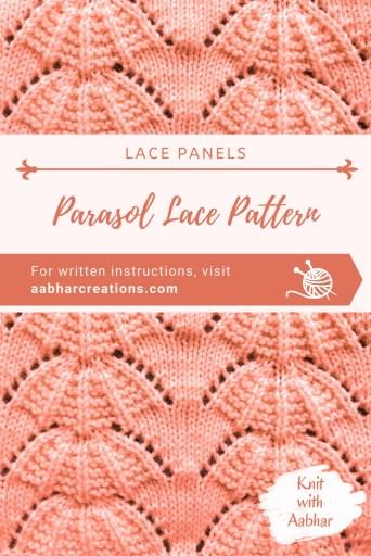 Parasol Lace Pin
