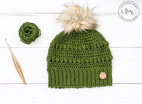 Cypress-Beanie free crochet pattern