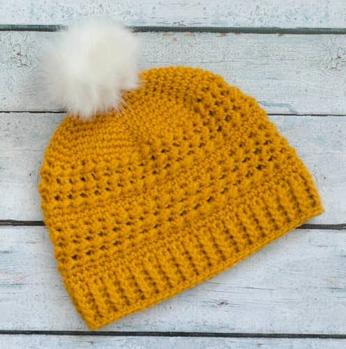 greatlakes-beanie free crochet pattern