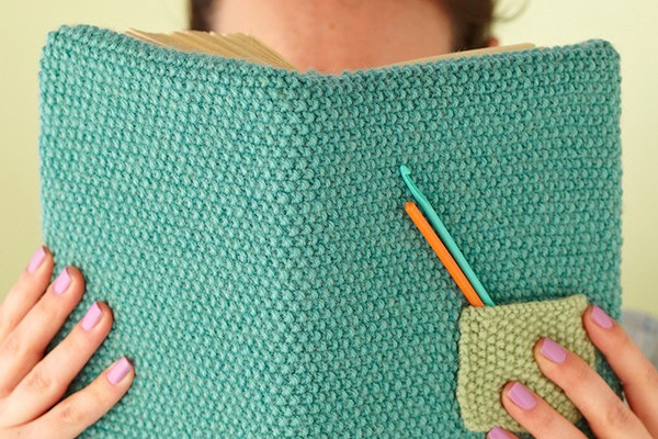 Knit Book Covers