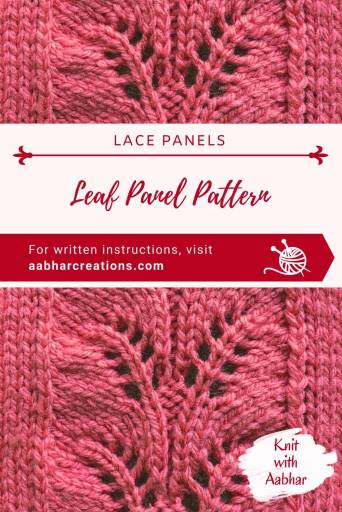 Leaf Panel Stitch Pin aabharcreations