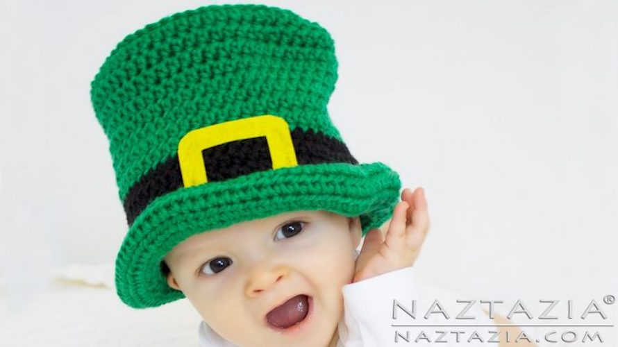 patrick's day crochet patterns Irish Top Hat
