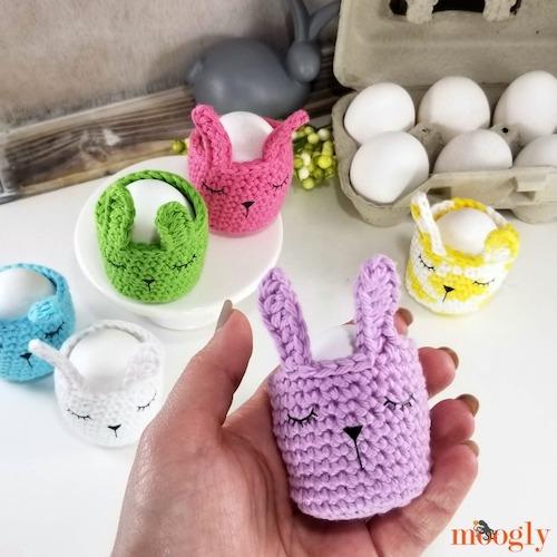 #5 Sleepy Bunny Egg Cozy