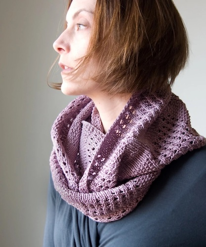 Canaletto Cowl - Free Knitting Pattern mother's day free patterns wearables