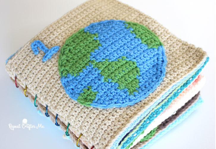 #2 Earth Day Crochet Quiet Book