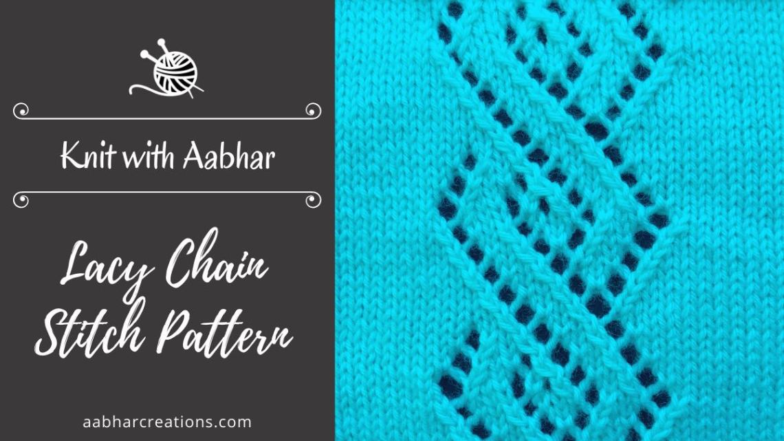 Lacy Chain Stitch featured aabharcreations