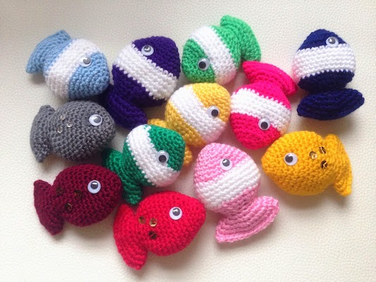 Pattern: Fish Candy by Lily Razz from Ravelry