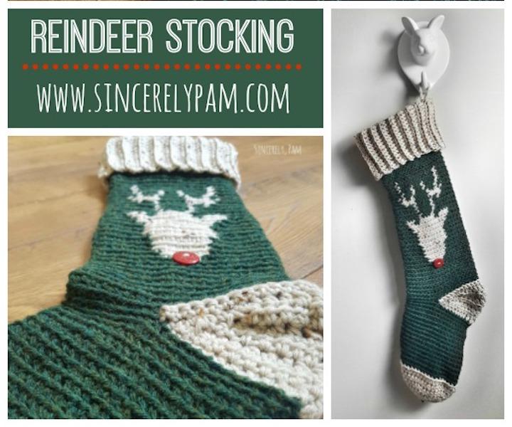 #6 Reindeer Stocking