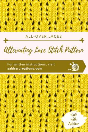 Alternating Lace Pin Image aabharcreations