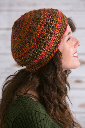 Pattern: Simply Fall Hat by Kristi Simpson from I Like Crochet Network