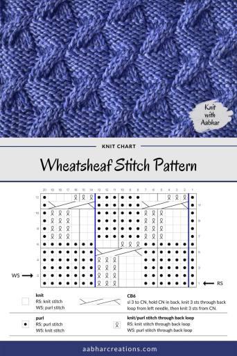 Wheatsheaf Stitch Chart aabharcreations