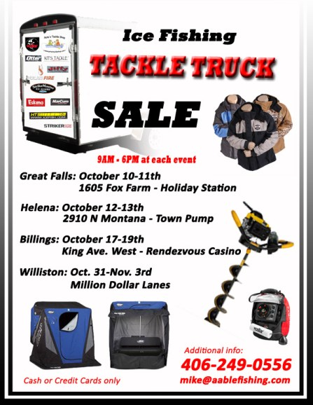 Ice Fishing Tackle SALE!