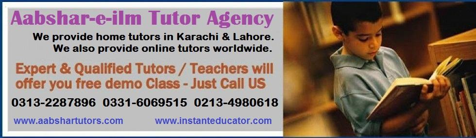 Student Area | Home Tutor Academy Karachi, Home Teacher