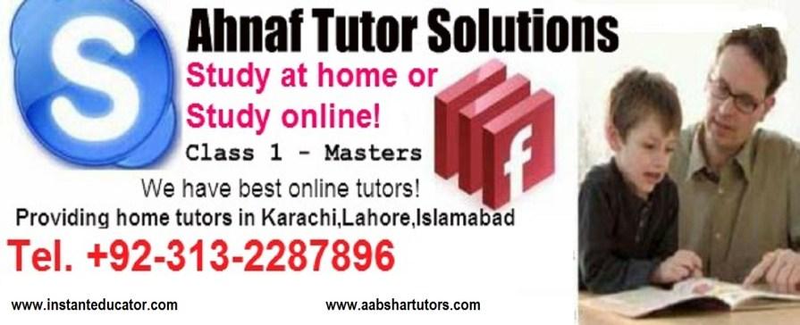 Tag: matric math tutoring | Home Tutor Academy Karachi, Home