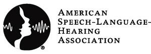 American Speech-Language Hearing Association Logo