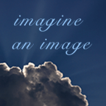 "Cloud with text ""imagine an image"""