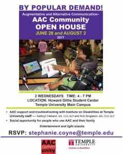 AAC open house flyer