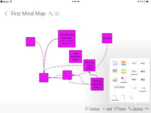 Image of Ideament Mind Map app