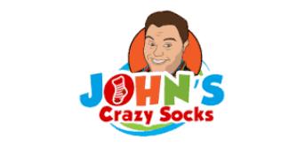 John's Crazy Socks Logo