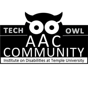 AAC Community Logo with Owl