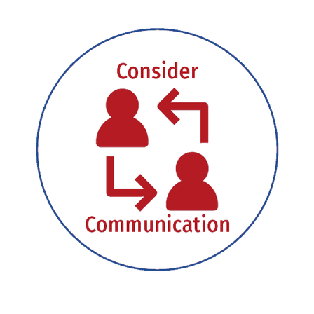 Icon for Consider Communication
