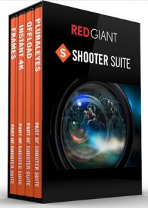 Red Giant Shooter Suit serial key crack
