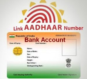 Aadhar card link to a bank account