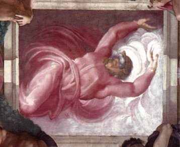 Separation of Light from Darkness, Michelangelo, 1512