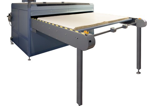 Alpha Industrial Flatbed Series 10 Press