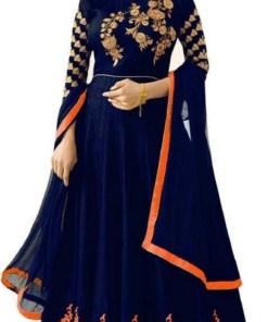 Designer Silk Anarkali Suits