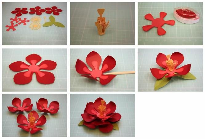 फूल बनाने के आसान तरीके-4