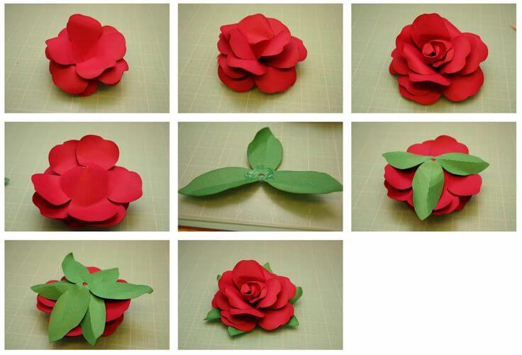 फूल बनाने के आसान तरीके-6