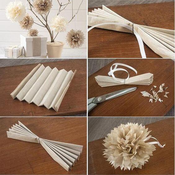 फूल बनाने के आसान तरीके-9