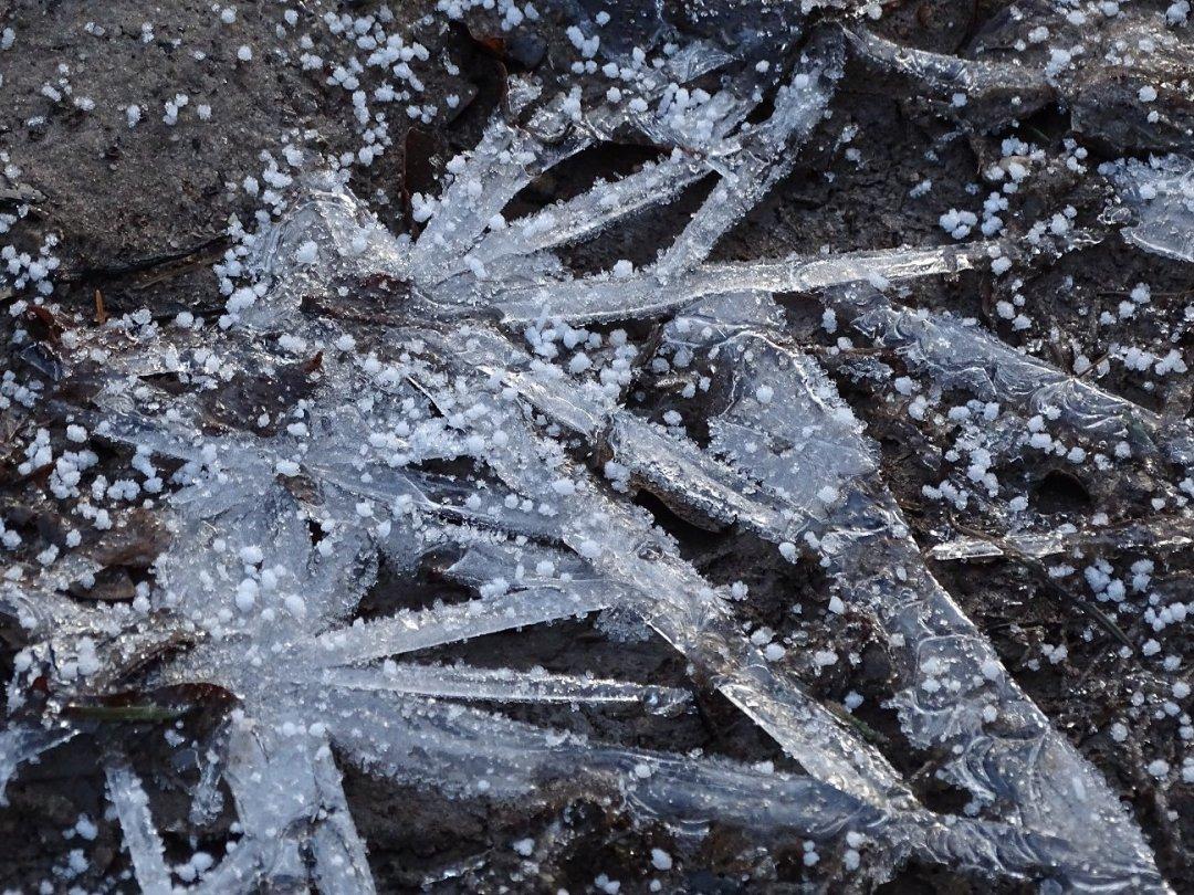 Kristallen als ijsbruggen